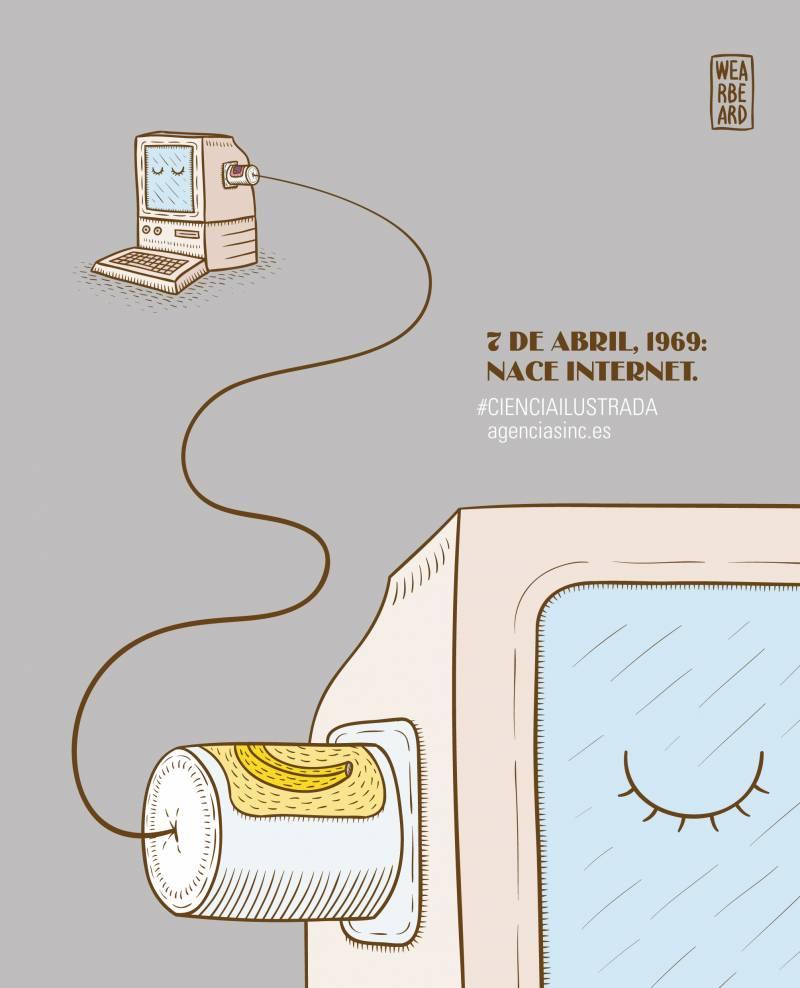 45 años del nacimiento de internet. / SINC