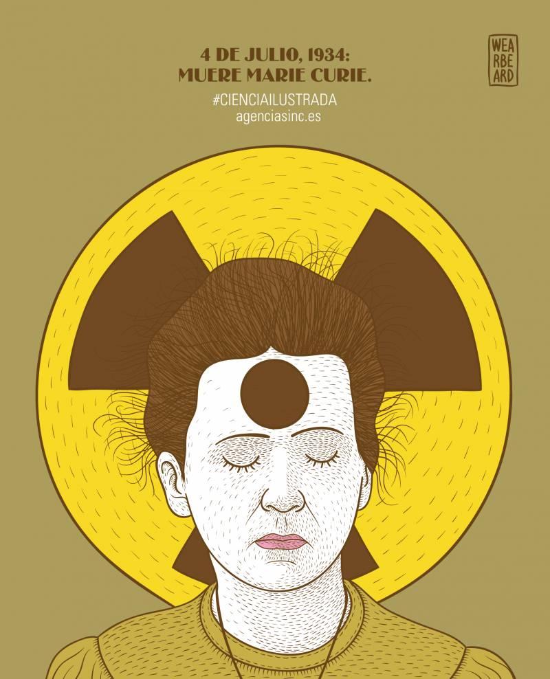 Se cumplen 80 años de la muerte de Marie Curie. / SINC