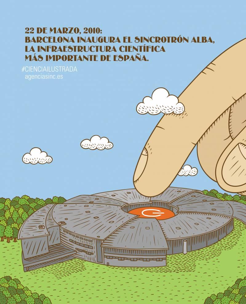 Se cumplen cinco años de la inauguración del Sincrotrón ALBA. / Sinc