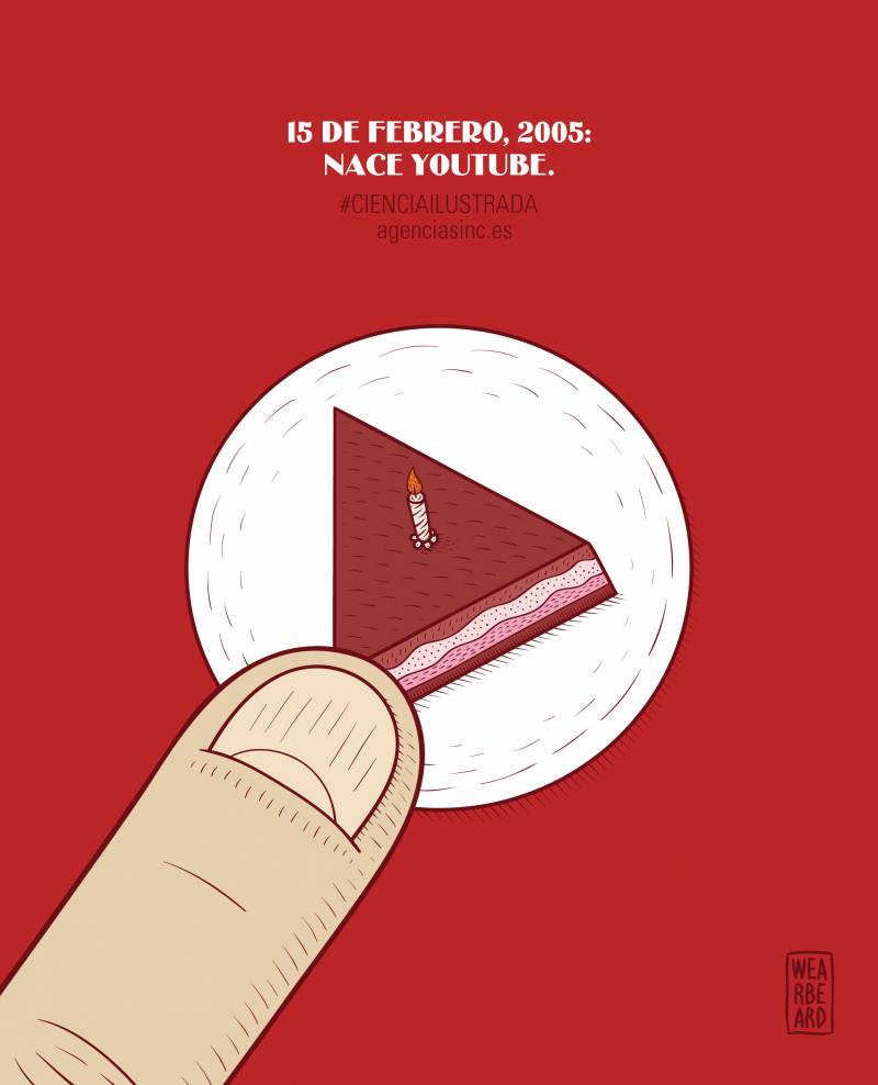 Se cumplen diez años del lanzamiento de YouTube. / Sinc