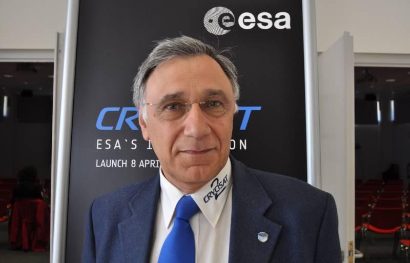 """""""CryoSat es el único satélite que estudiará el volumen de la masa de hielo"""""""