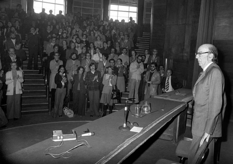 El archivo del filósofo José Luis Aranguren será de acceso público