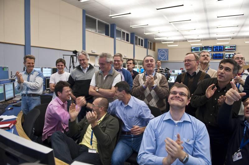 El LHC establece un nuevo récord del mundo