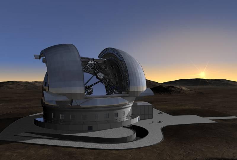 España se esfuerza por acoger el supertelescopio E-ELT