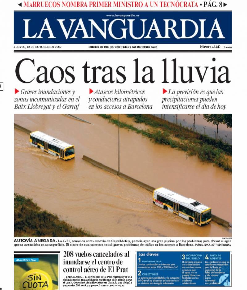 La prensa amplifica el riesgo de sequía en Catalunya