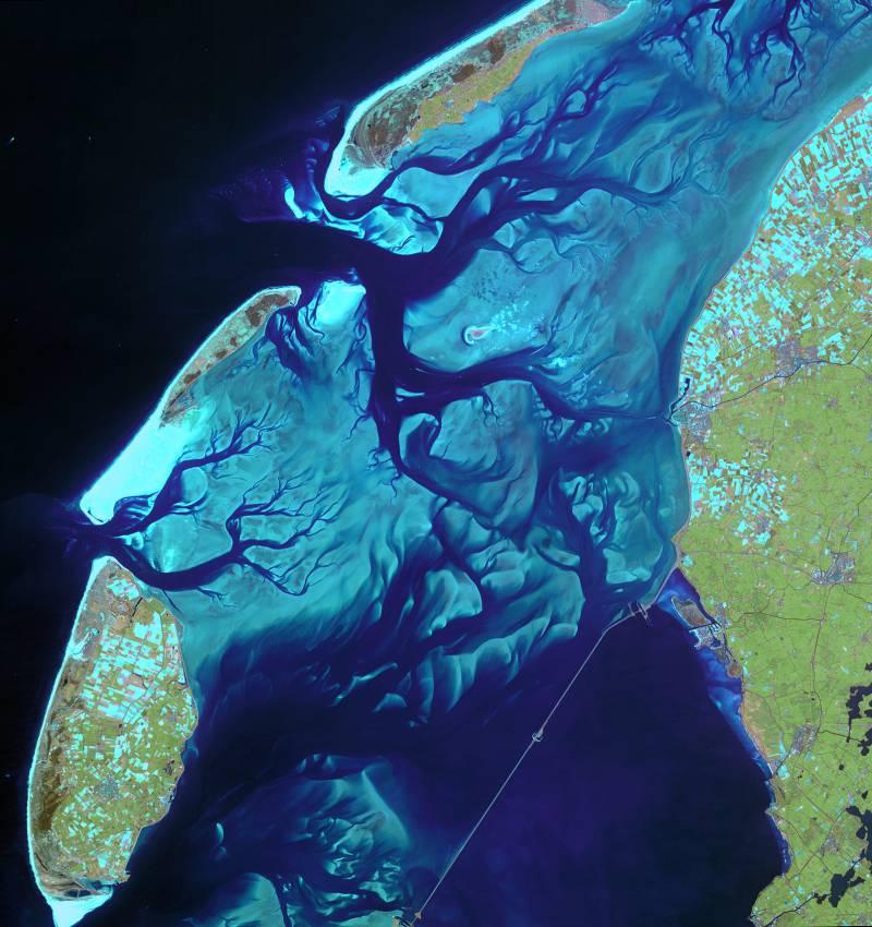Las cambiantes aguas del mar de Frisia