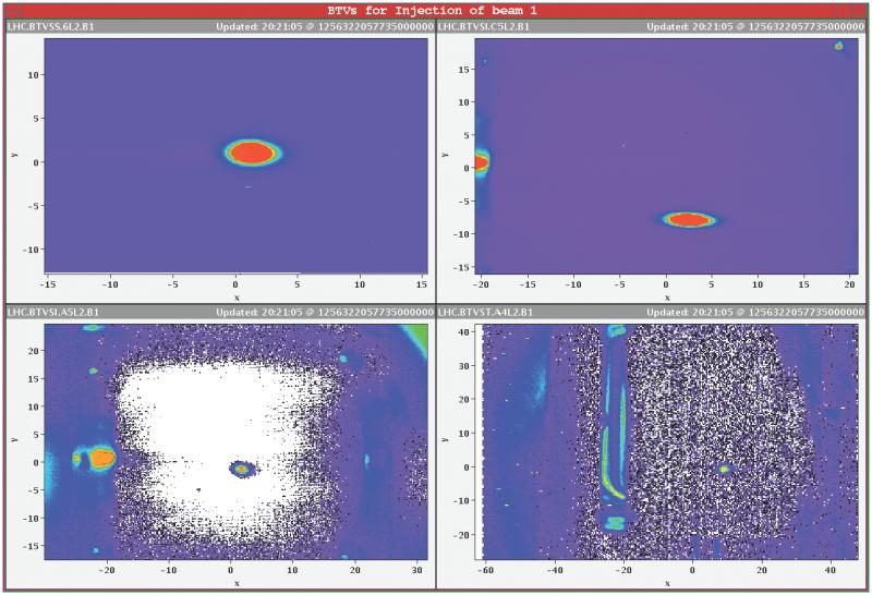 Los haces de partículas vuelven a circular por el LHC