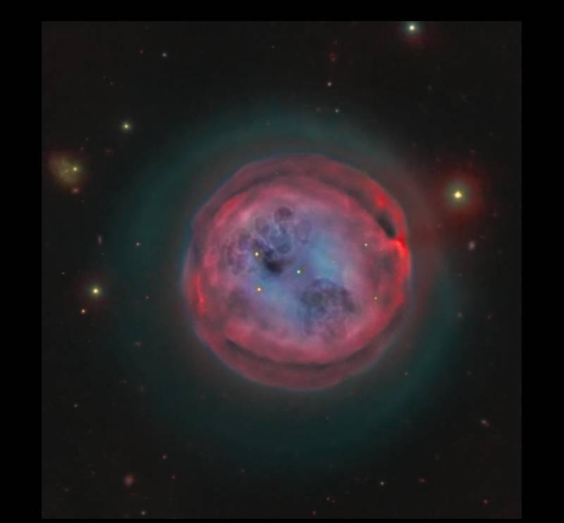 M 97, la nebulosa Lechuza