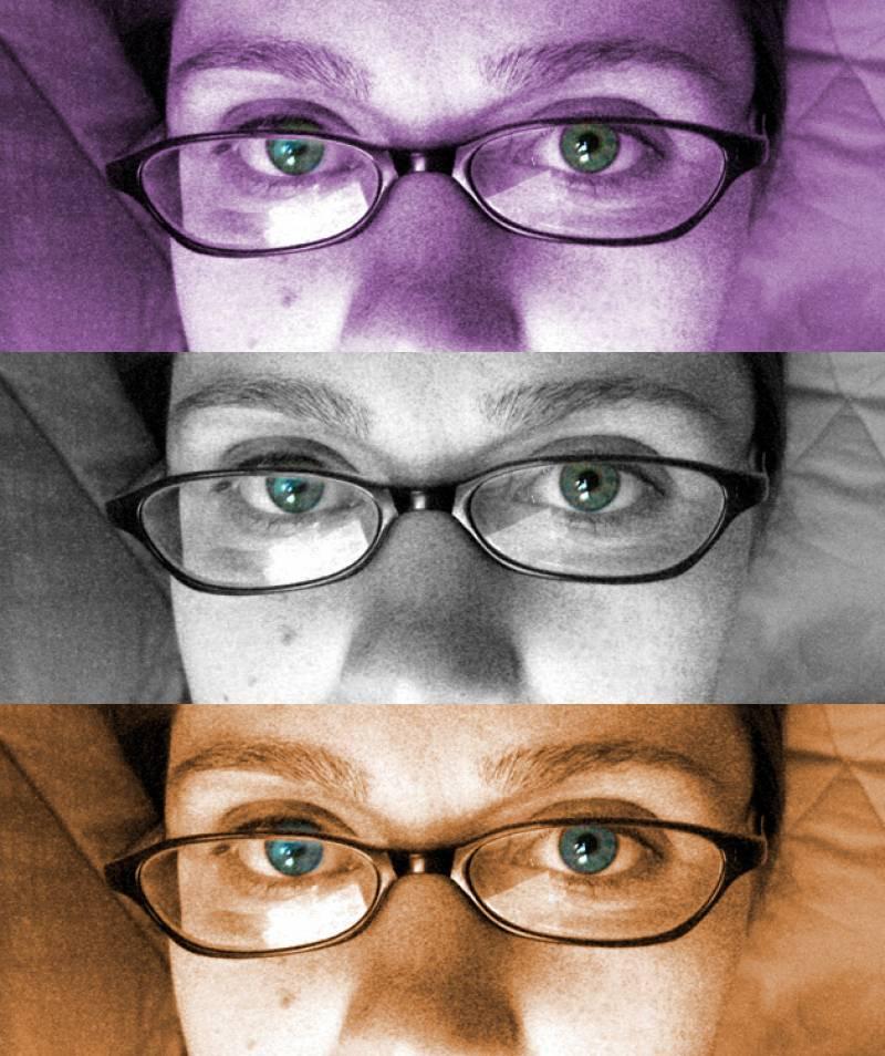 El cerebro extrae la información para el reconocimiento facial sobre todo a partir de los ojos.