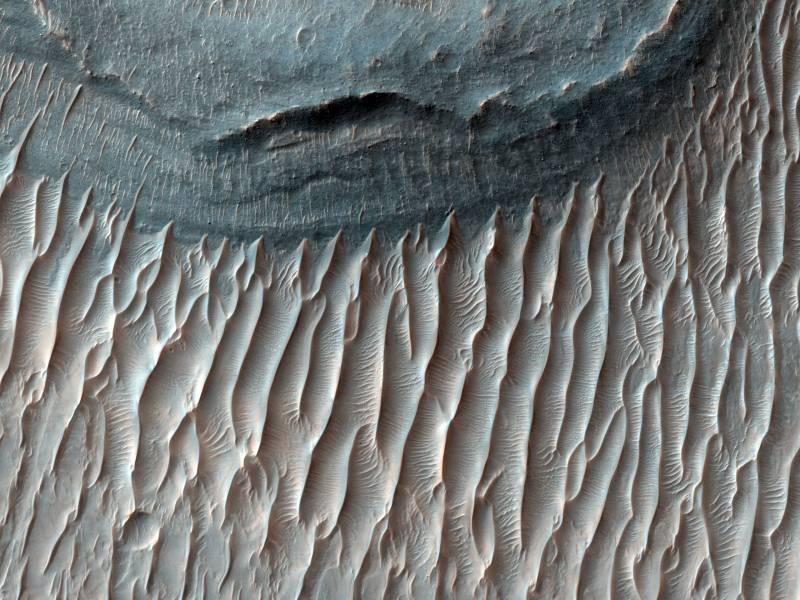 El suelo de Ius Chasma