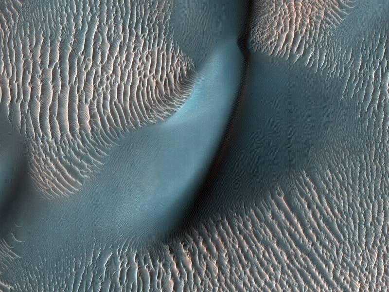 Nuevas imágenes de Marte en alta resolución
