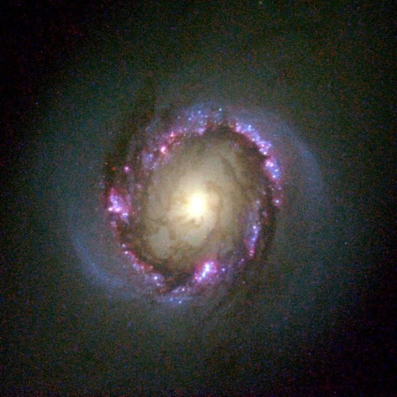 Presentan el mayor atlas de anillos nucleares galácticos