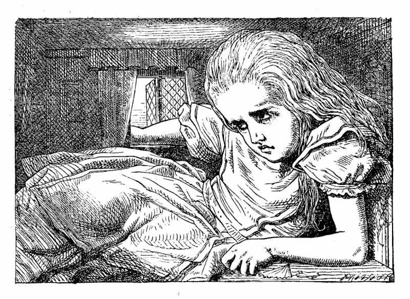 """Dibujos originales del libro """"Alicia en el País de las Maravillas"""" de Lewis Carroll"""