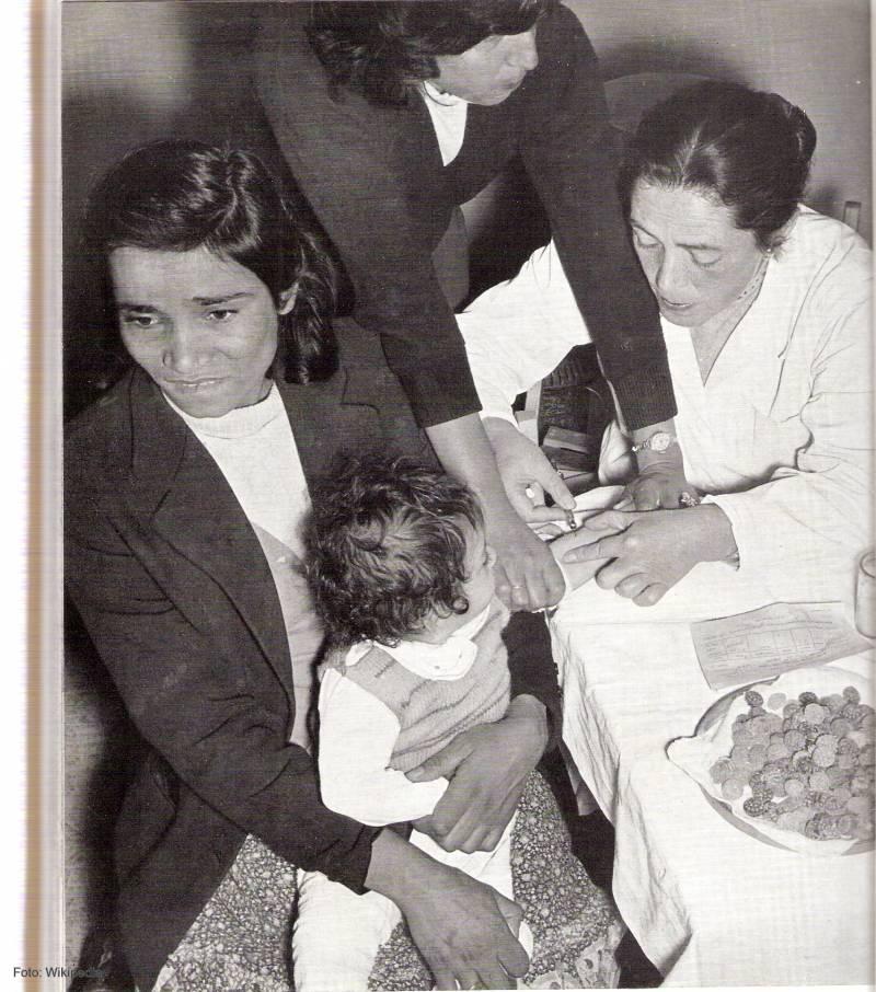 Una campaña secreta de vacunación contra la polio