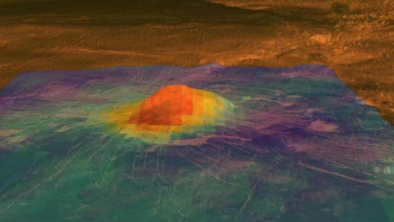 Venus sigue activo geológicamente
