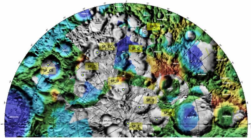 Cambio de cráter lunar para el impacto esta semana de la sonda LCROSS