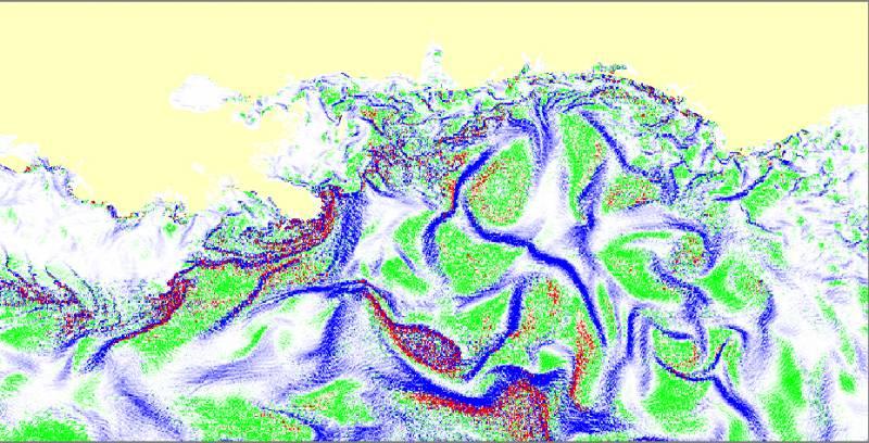 El sistema predice a corto plazo la evolución de las manchas de petróleo.