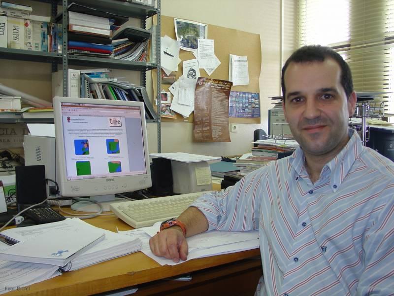 Eduardo García Ortega, profesor del área de Física Aplicada e investigador del grupo de Física de la Atmósfera de la Universidad de León.