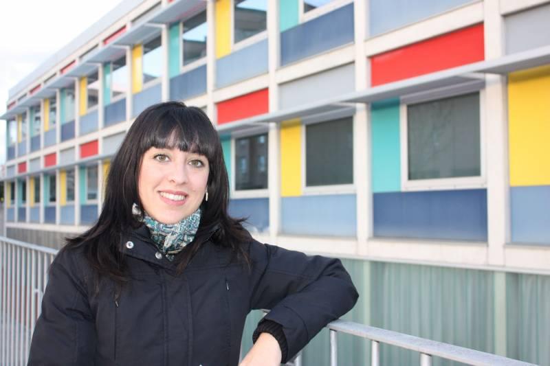La investigadora Priscila Comino.