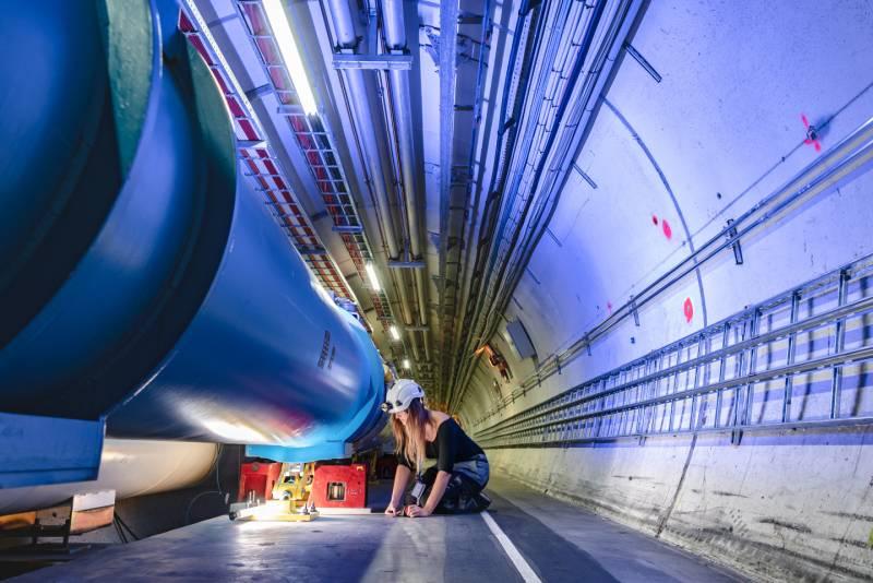 Cristina Bahamonde, ingeniera química nuclear en el CERNen