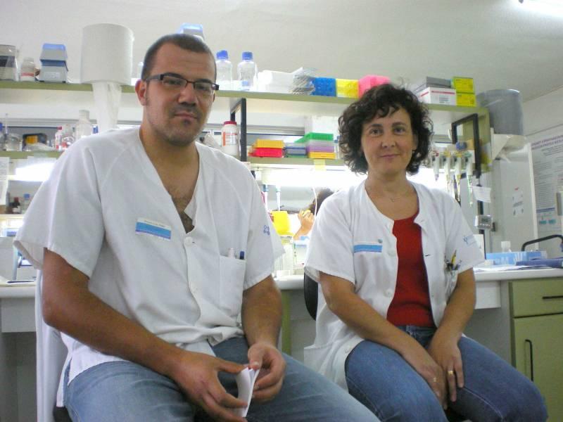 Isabel Rodríguez García y Pablo Román García