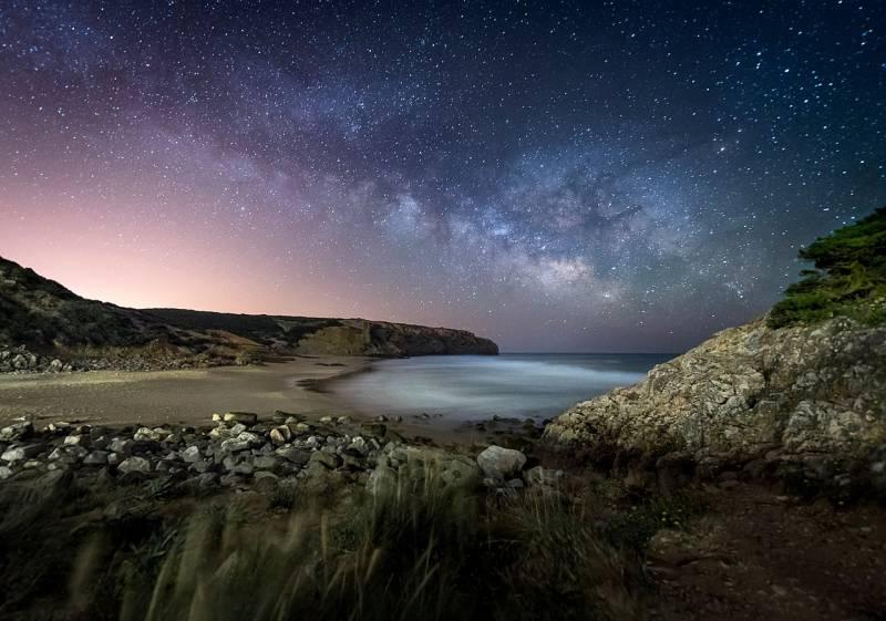 Vía Láctea vista desde el sur de la península ibérica