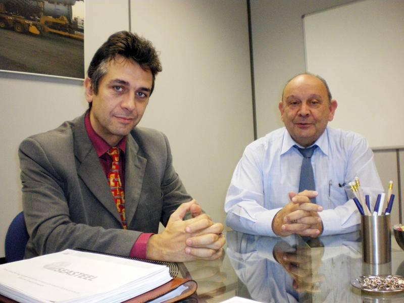 osé Manuel López y José Manuel García Sánchez