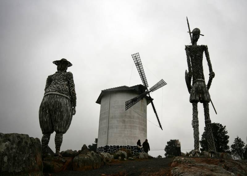 Ilustración de Don Quijote. / J.J. Grandville.