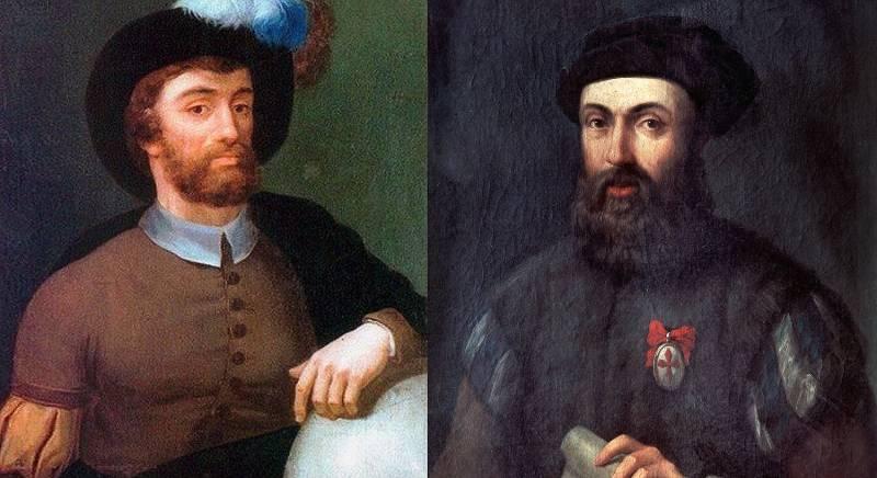 Elcano y Magallanes, protagonistas de la primera vuelta al mundo
