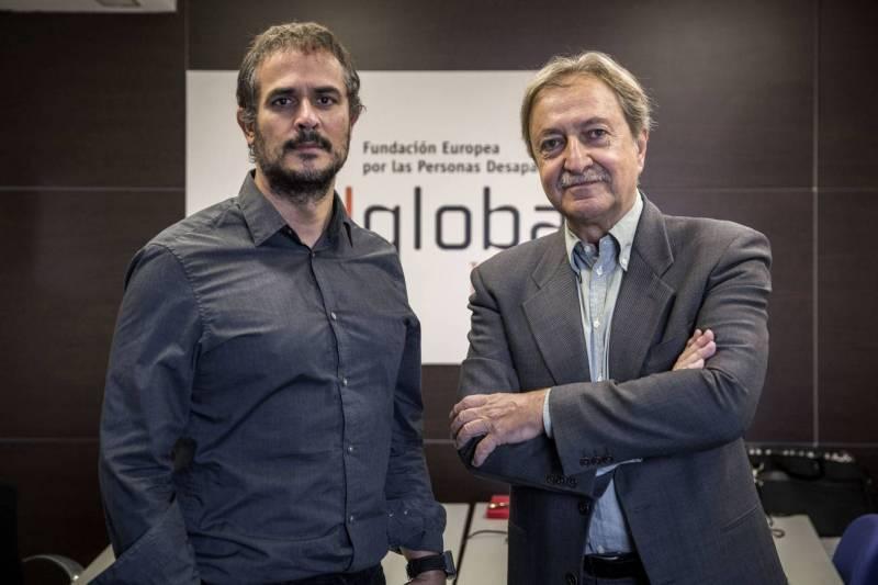 Paco Lobatón y Iván Pérez