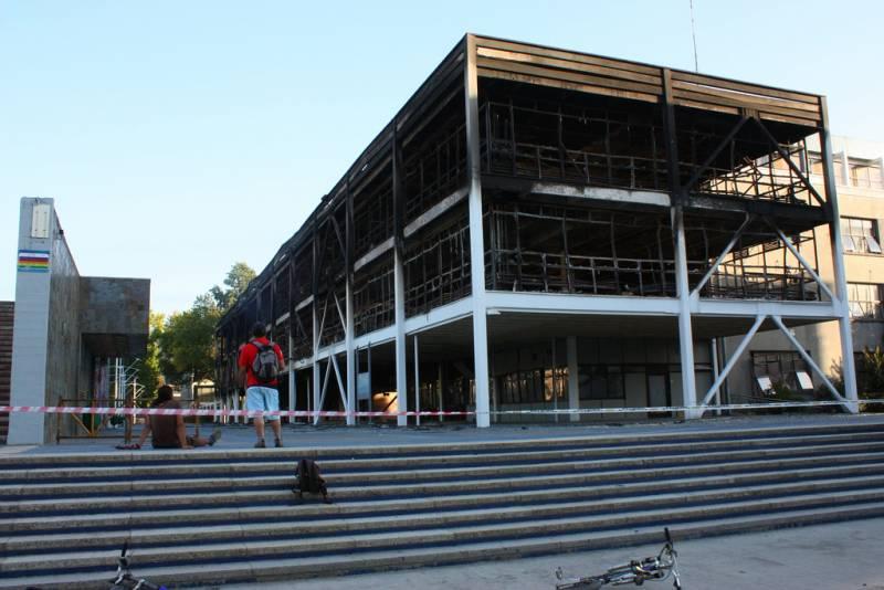 edificio de la Facultad de Ciencias Químicas