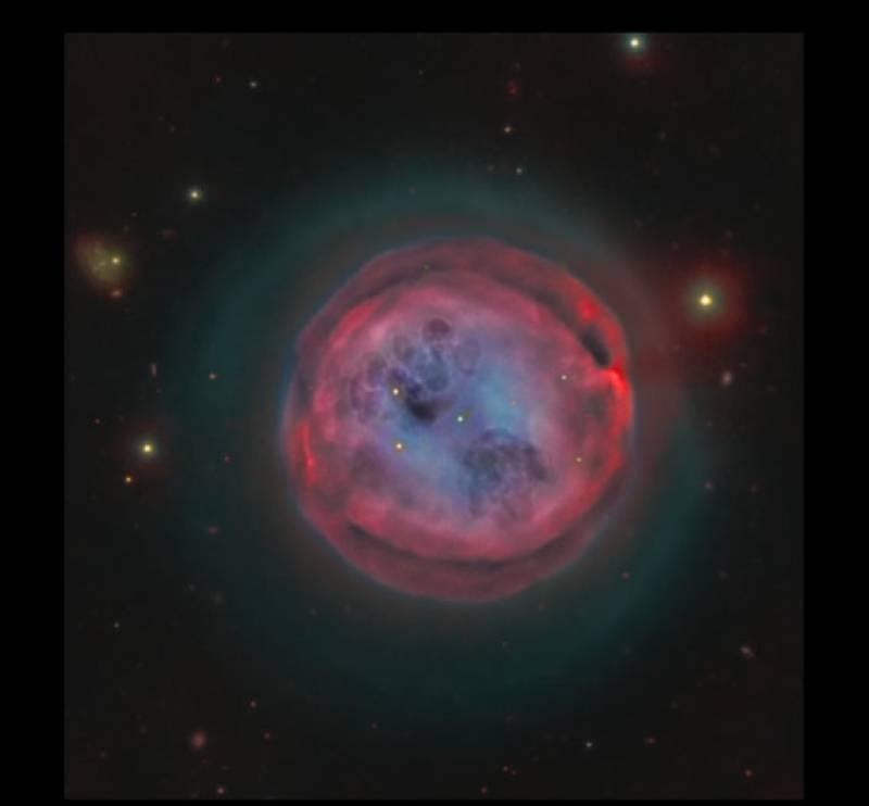 la nebulosa lechuza