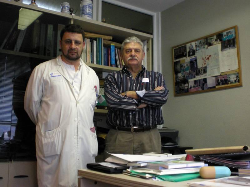 Valentín Muruamendiaraz y Manuel Rivas del Fresno