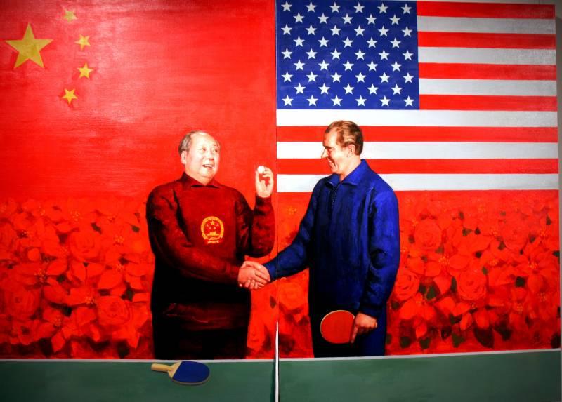Gracias al pinpón, las relaciones entre China y EE UU iniciaron un viaje hacia el acercamiento. Imagen: 0xFCAF