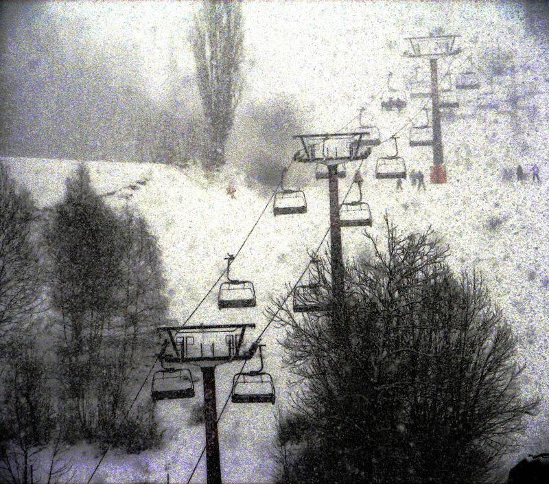 Pistas de esquí de la Estación de Cerler (Huesca)