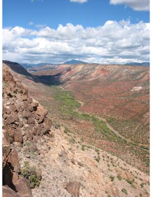 El valle de Jemez en Nuevo México./ Matthew Liebmann