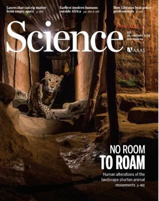 Portada de la revista 'Science'