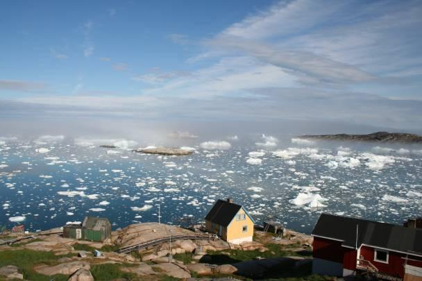Pueblo de Groenlandia. / Malik Milfeldt