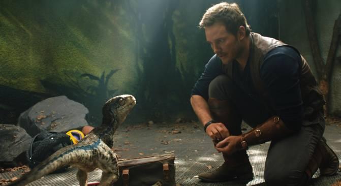 Owen Grady en Jurassic World: el Mundo Perdido