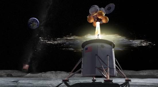 Aterrizaje lunar / NASA
