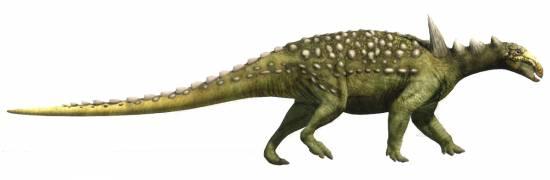 Reconstrucción de Struthiosaurus (Oscar Sanisidro/ICP)