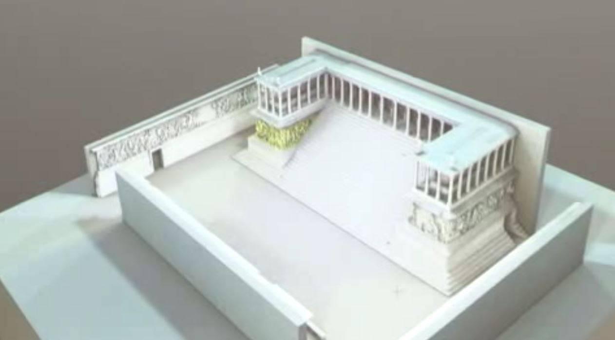 El altar del museo Pérgamo de Berlín, ahora en 3D