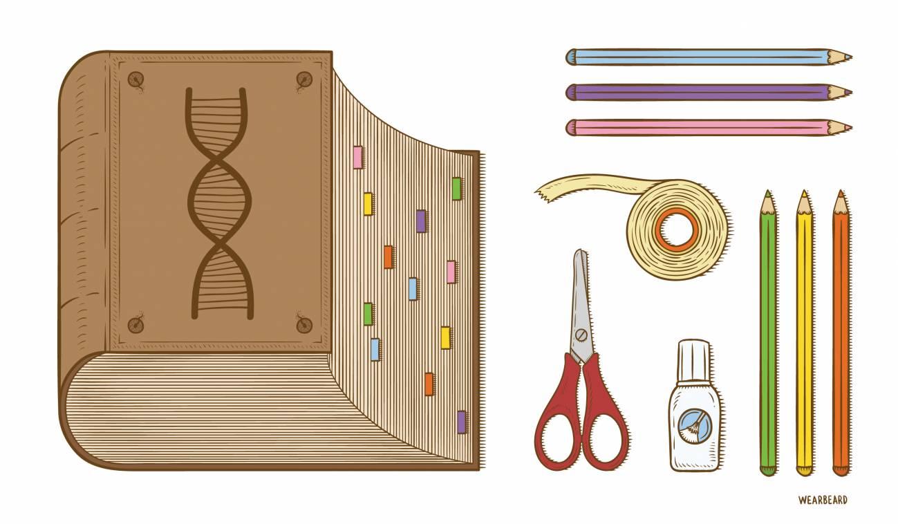 Ilustración CRISPR