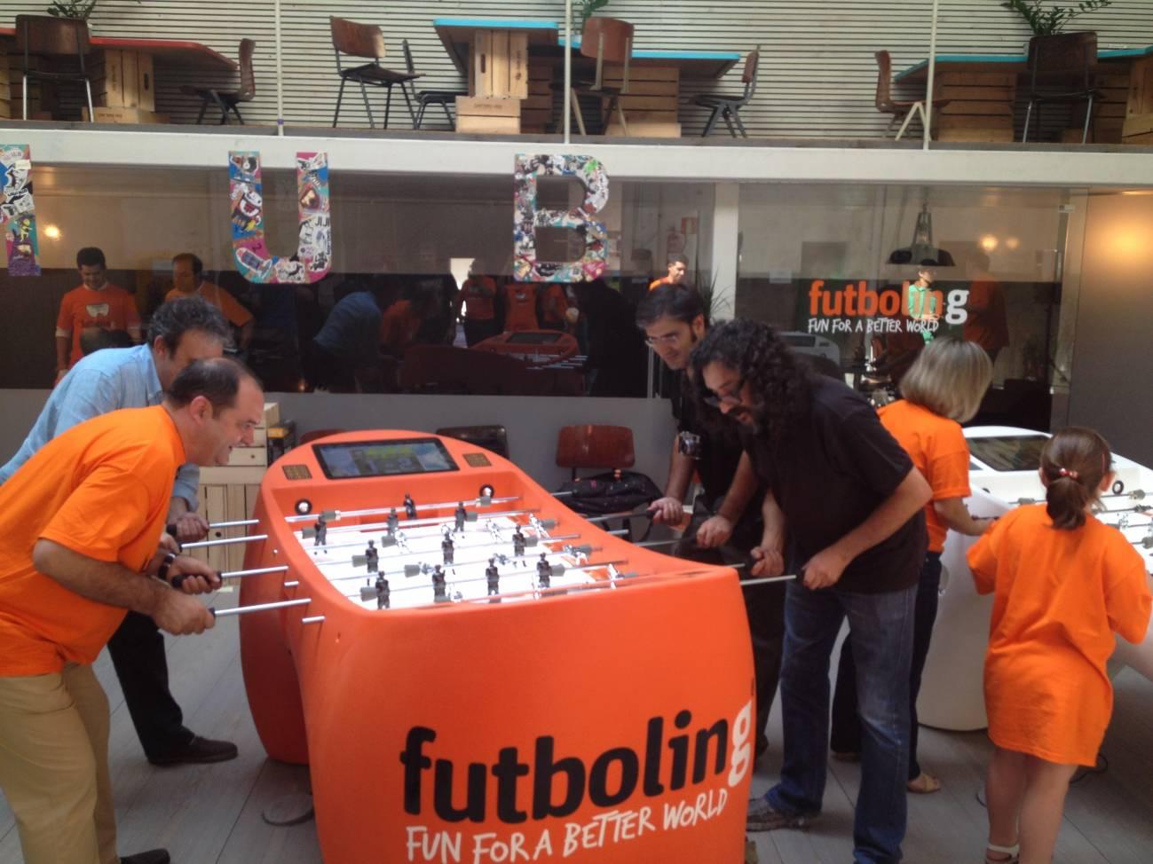 Jugadores de Futboling. / IAMVISIBILITY