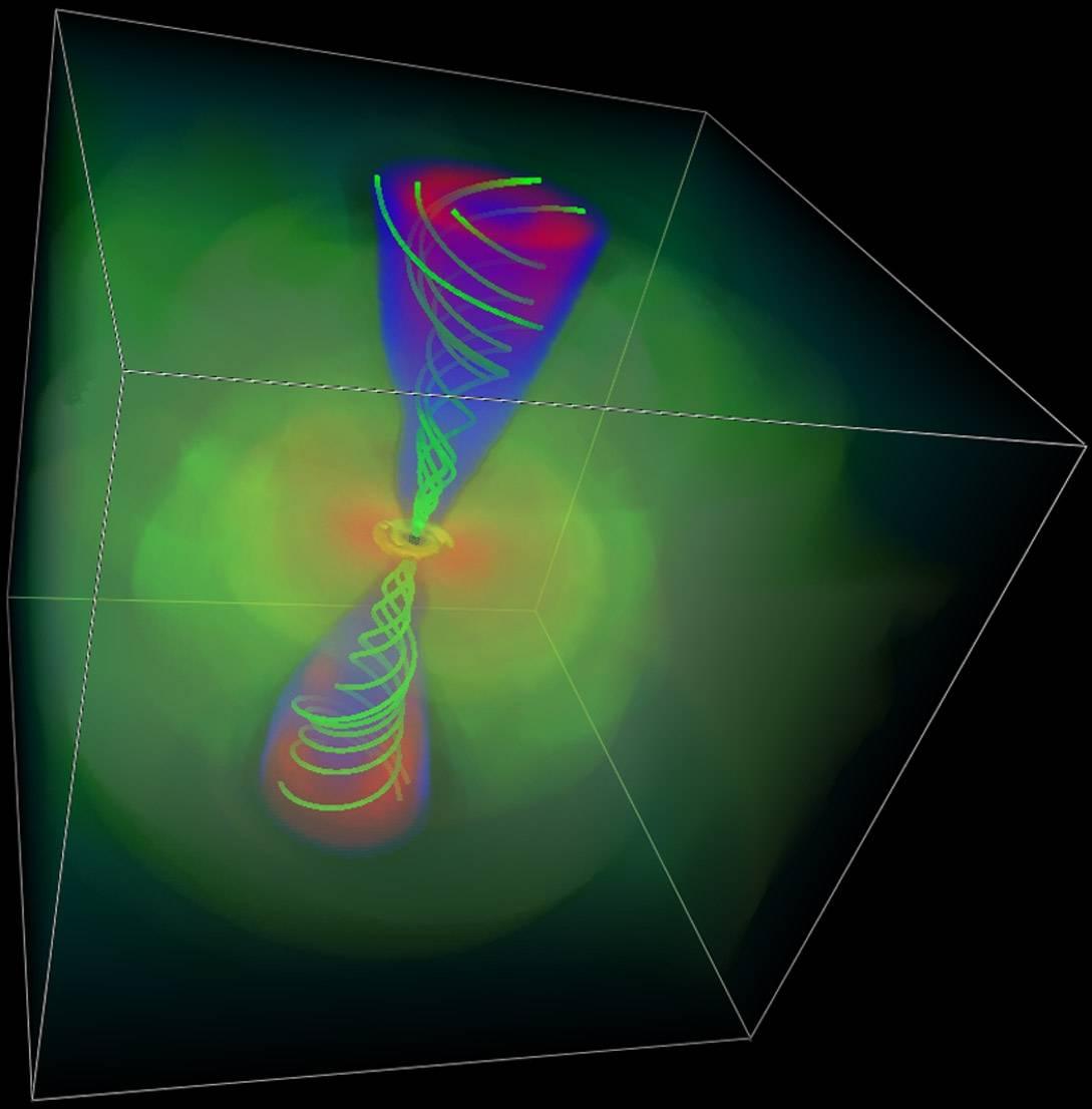 Aportan nuevos datos sobre los jets de partículas emitidos desde las galaxias blazars