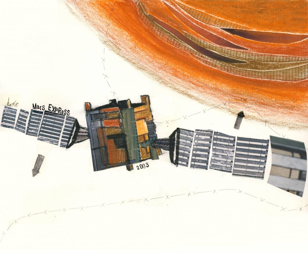 Quinto aniversario del lanzamiento de la nave Mars Express