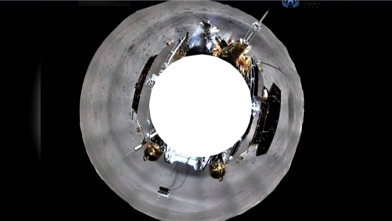 Fotografía 360 grados de la cara oculta de la Luna