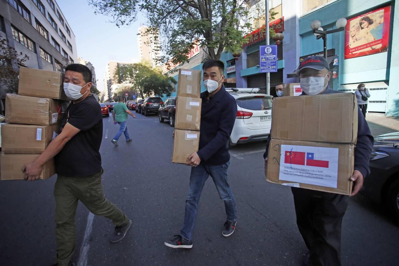 Donación de mascarillas por parte de la comunidad china / Flickr