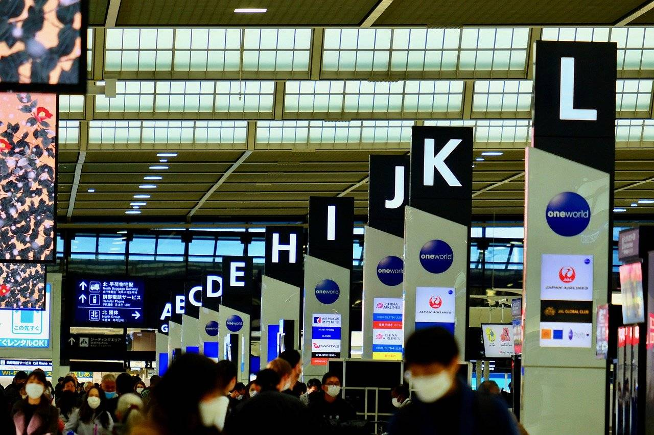 aeropuerto asiático
