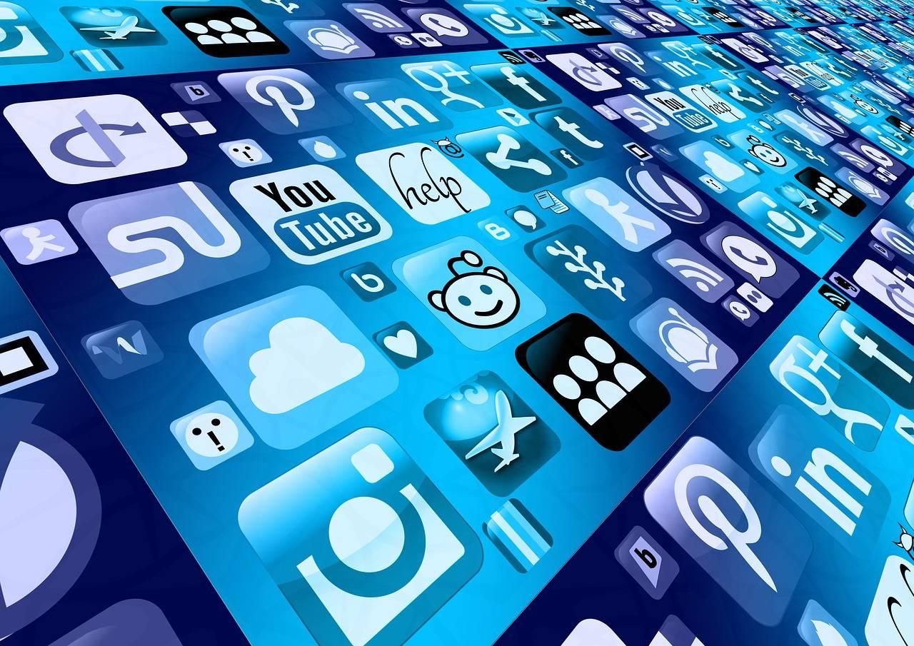 aplicaciones de redes sociales en el móvil
